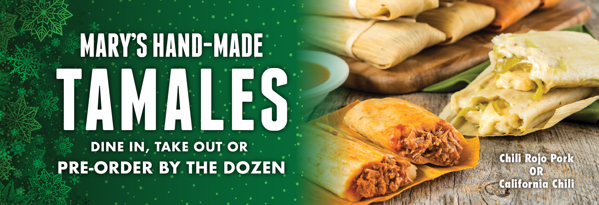 Tamales for Christmas | Miguel's Restaurant
